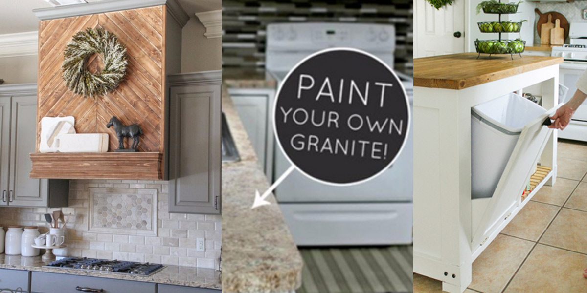 37 Brilliant DIY Kitchen Makeover Ideas