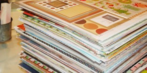 Watch This, You Will Not Believe What She Makes With Her Leftover Scrapbook Paper!