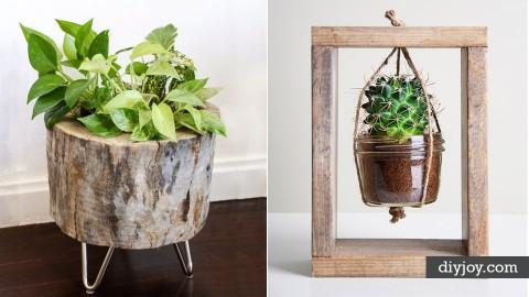 34 Creative DIY Planters | DIY Joy Projects and Crafts Ideas