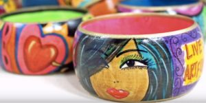 She Shows You How To Create The Coolest Artsy Bracelets! (LOOK!)