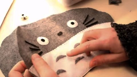 After She Makes A Kitty Cat's Face, Watch What She Does Next And It's Purpose! (NO SEW!) | DIY Joy Projects and Crafts Ideas