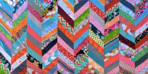 All Those Years And She Never Made a Quilt THEN She Found This Easy Colorful Quilt Tutorial…