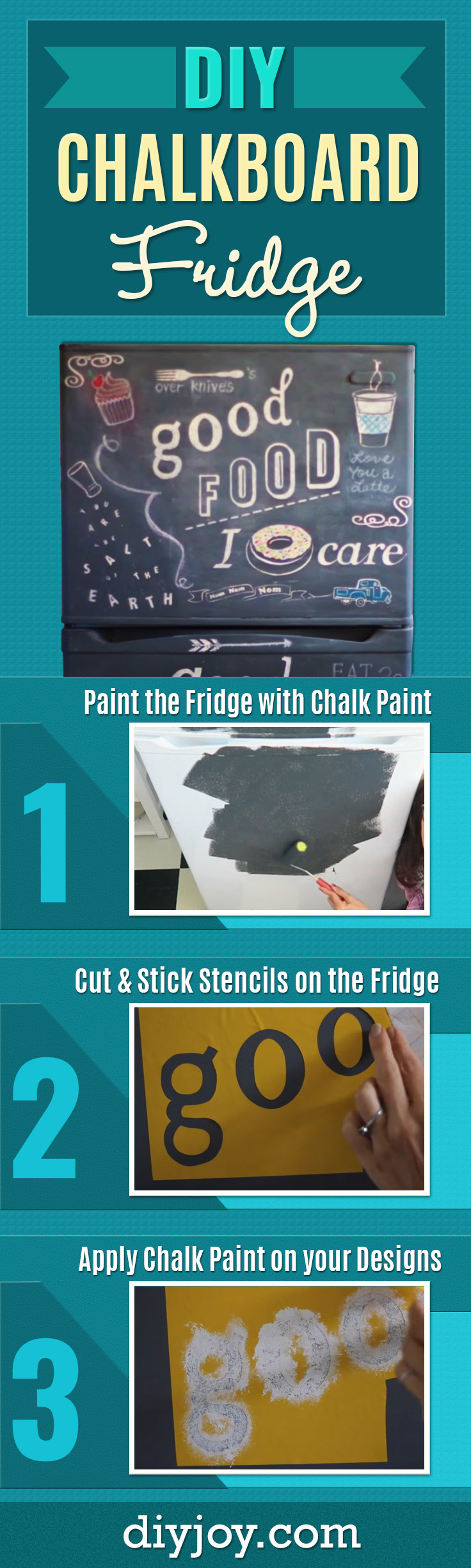 She Found A Fridge On Craigslist And Shows How To Make An Absolutely ...