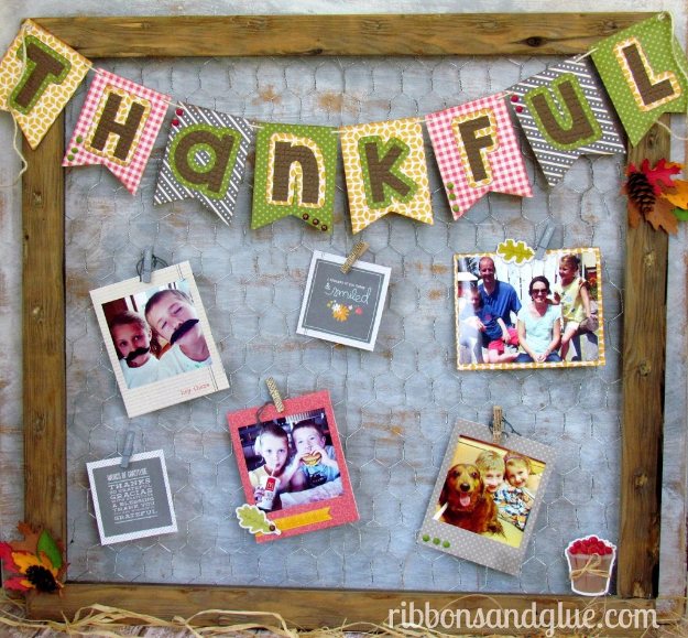 38 Best DIY Projects for Fall - DIY Chicken Wire Photo Frame - Quick And Easy Projects For Fall, Fun DIY Projects To Try This Fall, Cute Fall Craft Ideas, Fall Decors, Easy DIY Crafts For Fall http://diyjoy.com/diy-projects-for-fall