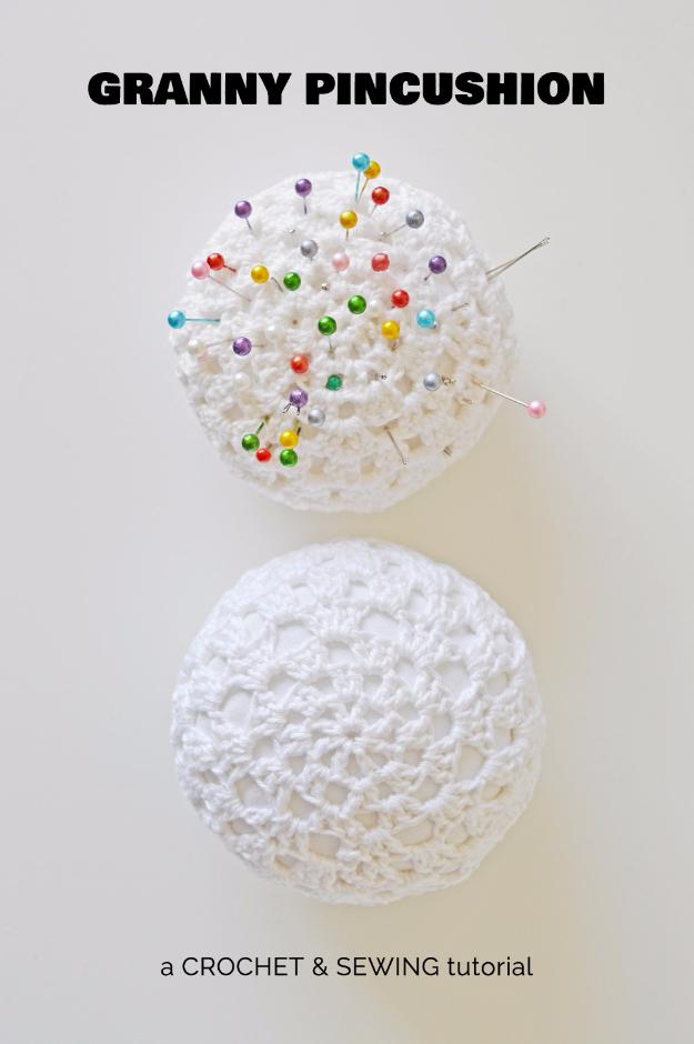 35 Easy Crochet Patterns - DIY Crochet Pincushion - Crochet Patterns For Beginners, Quick And Easy Crochet Patterns, Crochet Ideas To Try, Crochet Ideas To Make And Sell, Easy Crochet Ideas #crochet #crochetpatterns #diygifts