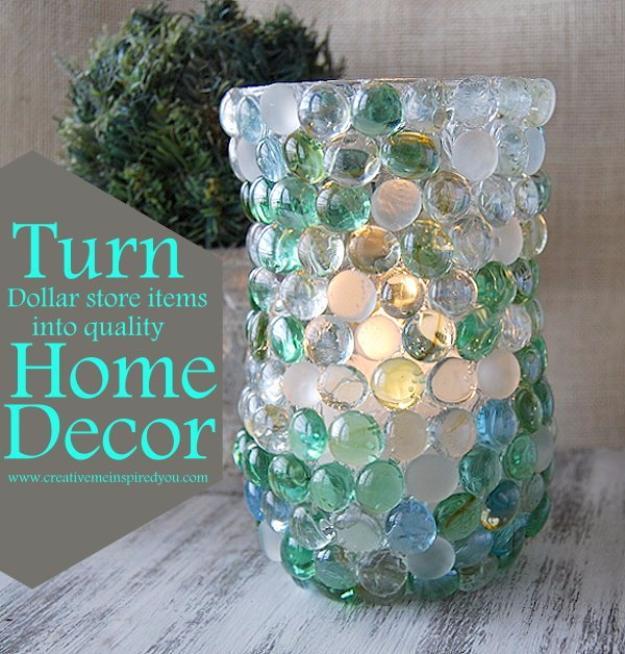Diy Glass Bead Vase Diy Joy