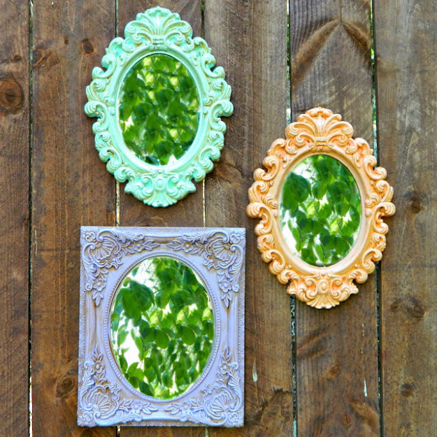 Dollar Store Crafts - Dollar Store Frame Makeovers - Best Cheap DIY Dollar Store Craft Ideas for Kids, Teen, Adults, Gifts and For Home #dollarstore #crafts #cheapcrafts #diy