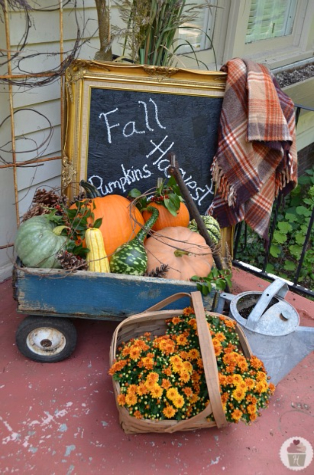 38 Best DIY Projects for Fall - Fall Front Porch Decor - Quick And Easy Projects For Fall, Fun DIY Projects To Try This Fall, Cute Fall Craft Ideas, Fall Decors, Easy DIY Crafts For Fall http://diyjoy.com/diy-projects-for-fall