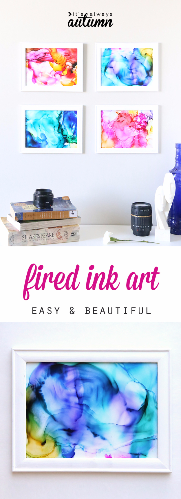 DIY Wall Art Ideas for the Bedroom - Fired Ink Art - Rustic Decorating Projects For Bedroom, Brilliant Wall Art Projects, Creative Wall Art, Do It Yourself Crafts, Easy Wall Art, Bedroom Decor on a Budget, Bedroom - Paintings, Canvas Art Ideas, Wall Hangings