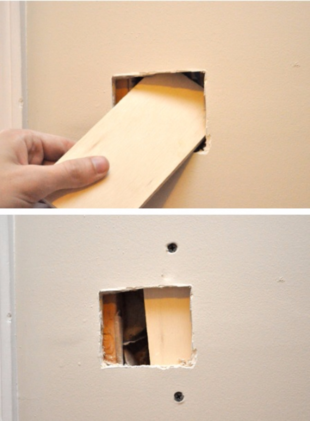 33 Home Repair Secrets From the Pros - Flawless Dry Wall Repair - Home Repair Ideas, Home Repairs On A Budget, Home Repair Tips, Living Room, Bedroom, Kitchen Repair, Home Improvement, Quick And Easy Home Tips http://diyjoy.com/diy-home-repair-secrets