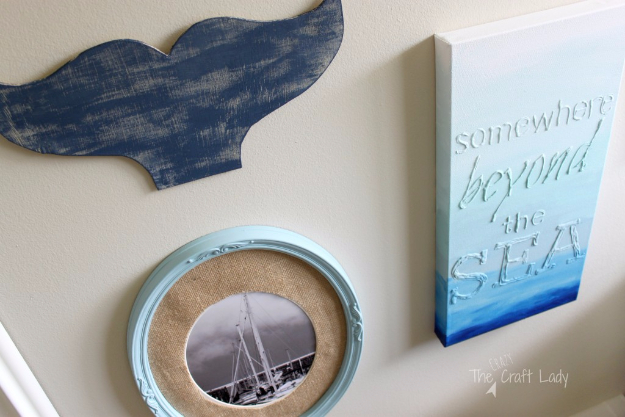 DIY Wall Art Ideas for the Bedroom - Hot Glue Canvas Art - Rustic Decorating Projects For Bedroom, Brilliant Wall Art Projects, Creative Wall Art, Do It Yourself Crafts, Easy Wall Art, Bedroom Decor on a Budget, Bedroom - Paintings, Canvas Art Ideas, Wall Hangings