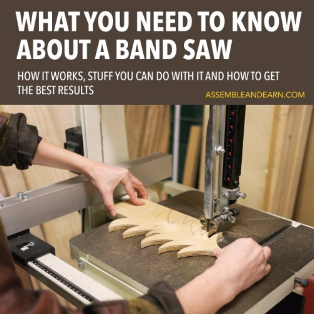 Cool Woodworking Tips - Introduction To A Band Saw - Easy Woodworking Ideas, Woodworking Tips and Tricks, Woodworking Tips For Beginners, Basic Guide For Woodworking #woodworking