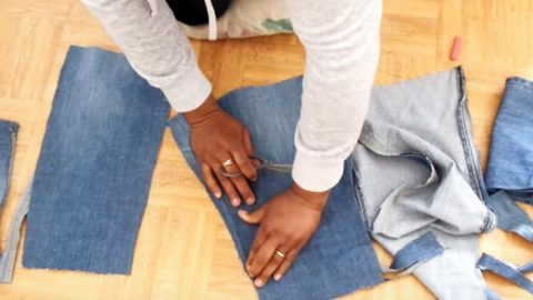 Sewing Tutorial – Denim Crop Top | DIY Joy Projects and Crafts Ideas