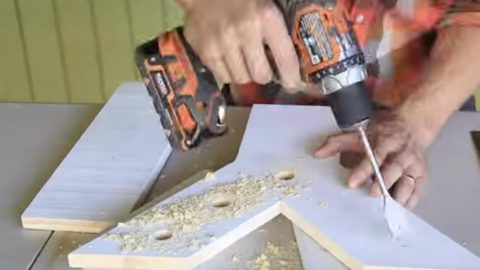 He Drills Holes In This Letter And Afterwards The Latest Craze! (SCINTILLATING!)…   DIY Joy Projects and Crafts Ideas