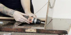 Watch How She Transforms This Old Door Into Something Very Useful! (SO CLEVER)!