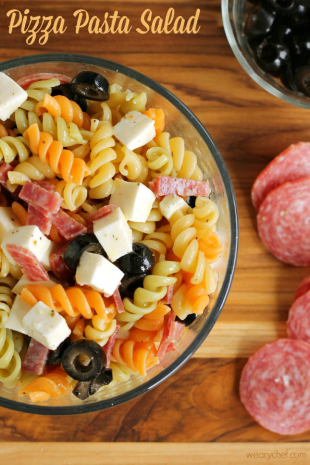 33 Easy Recipes for Back To School - Pizza Pasta Salad - Quick and Delicious Recipe Ideas for Kids and Adults. Pack for School Lunches, Make Ahead for Work, Freeze and Store for Early Morning Breakfasts, Super Lunch Meals, Simple Snacks and Dinner