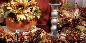 With The Holidays Around The Corner This Is A Clever Pumpkin Centerpiece! (Watch!)