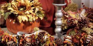 DIY Centerpiece Idea: Pumpkin Floral Arrangement
