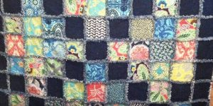 She Made a Fabulously Beautiful Beginners Rag Quilt So Easily!