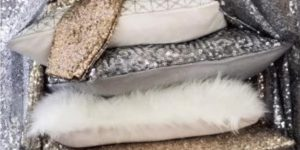 Bring Some Glitz And Shimmer To Your Decor With These Stunning Sequined Pillows!