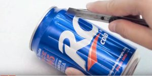 She Cuts a Soda Can With An X-Acto Knife And What She Makes Is So Cool And Useful!