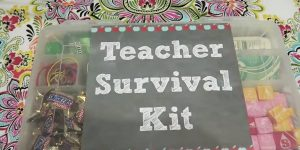 This Is A Clever Gift For The First Day Back To School And She Has A Clever Message For Each Thing She Puts In It!