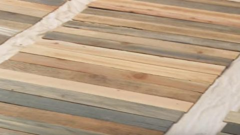 Watch What She Does With This Wood And How Magnificent It