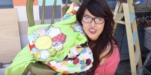 Watch What She Does With This Chair And Quilt! (SPECTACULAR!)