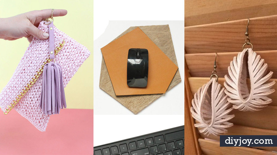 Creative leather crafts best diy projects made with leather easy creative leather crafts best diy projects made with leather easy handmade do it yourself gifts and solutioingenieria Gallery