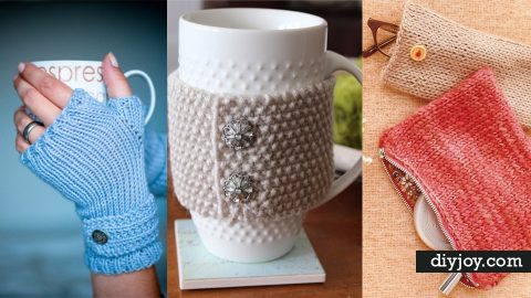 32 Easy Knitted Gifts That You Can Make In Hours | DIY Joy Projects and Crafts Ideas
