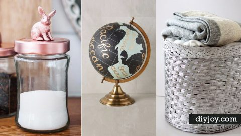 33 Cool DIYs You Can Make With Spray Paint | DIY Joy Projects and Crafts Ideas