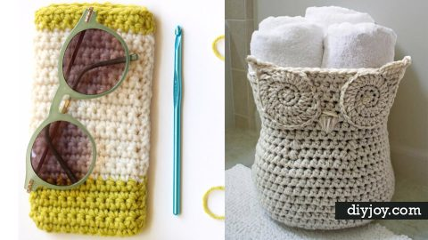 35 Easy Crochet Patterns | DIY Joy Projects and Crafts Ideas