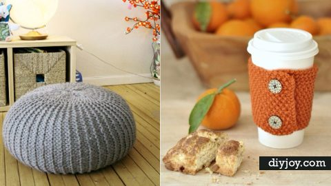 38 Easy Knitting Ideas | DIY Joy Projects and Crafts Ideas