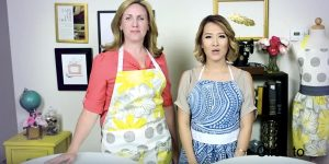 They Easily Make These Darling Anthropologie Inspired Aprons (Watch!)