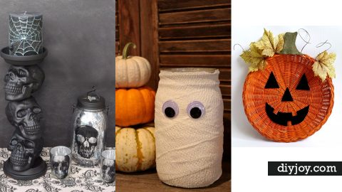 34 Inexpensive DIY Halloween Party Decor Ideas   DIY Joy Projects and Crafts Ideas