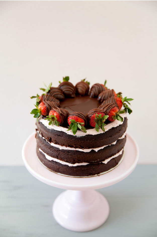 Make A Chocolate Cake From Scratch Recipe