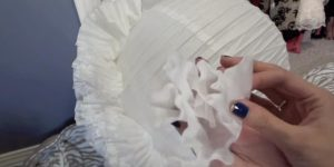 It's Amazing The Special DIY She Makes Using Coffee Filters (Show Stopper!)