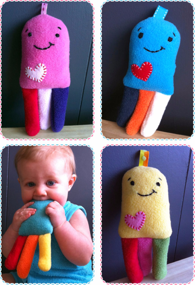 DIY Gifts for Babies - Crunchy Jellyfish Tutorial - Best DIY Gift Ideas for Baby Boys and Girls - Creative Projects to Sew, Make and Sell, Gift Baskets, Diaper Cakes and Presents for Baby Showers and New Parents. Cool Christmas and Birthday Ideas #diy #babygifts #diygifts #baby