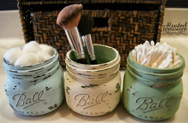 DIY Gifts for Mom - DIY Painted Mason Jar - Best Craft Projects and Gift Ideas You Can Make for Your Mother - Last Minute Presents for Birthday and Christmas - Creative Photo Projects, Bath Ideas, Gift Baskets and Thoughtful Things to Give Mothers and Moms #diygifts #giftsformom