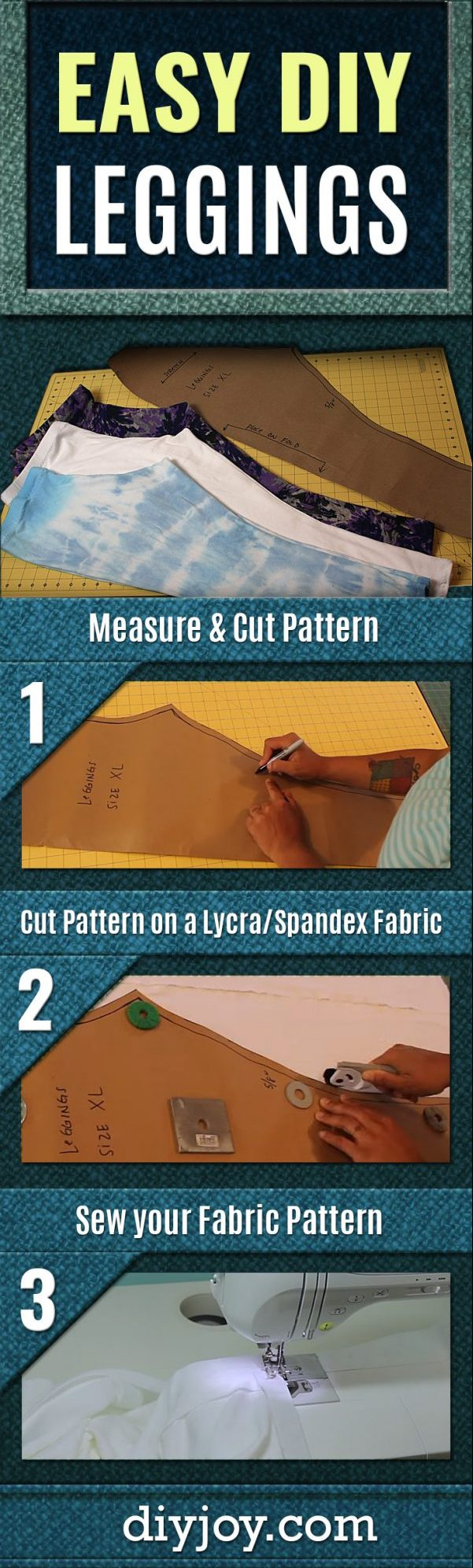How to Make Leggings With Easy Step by Step Tutorial