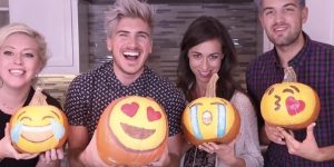 These Crazy Guys And Gals Make The Famous Emoji Pumpkins And They're So Much Fun!