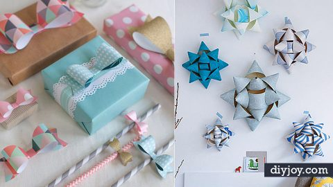 31 Things to Make With Leftover Wrapping Paper | DIY Joy Projects and Crafts Ideas
