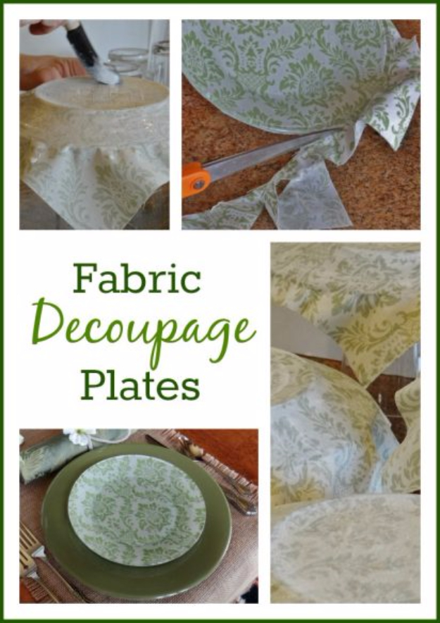 34 Cool DIYs To Make With Plates and Dishes