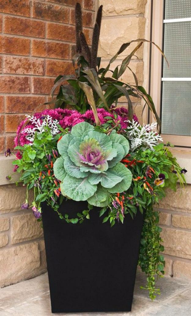 best gardening ideas for fall flowering cabbage for fall cool diy garden ideas for
