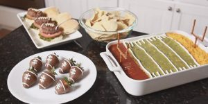 She's Pumped Up About Her Big Football Party And Makes These Yummy Cute Snacks (Watch!)