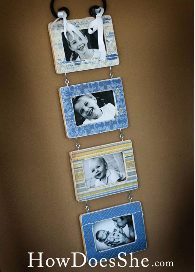 Easy Dollar Store Crafts - Four Dollar Store Frames - Quick And Cheap Crafts To Make, Dollar Store Craft Ideas To Make And Sell, Cute Dollar Store Do It Yourself Projects, Cheap Craft Ideas, Dollar Sore Decor,