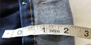 Her Jeans Are Always Too Long…She Discovered An Easy DIY To Keep The Original Hem! (Watch)