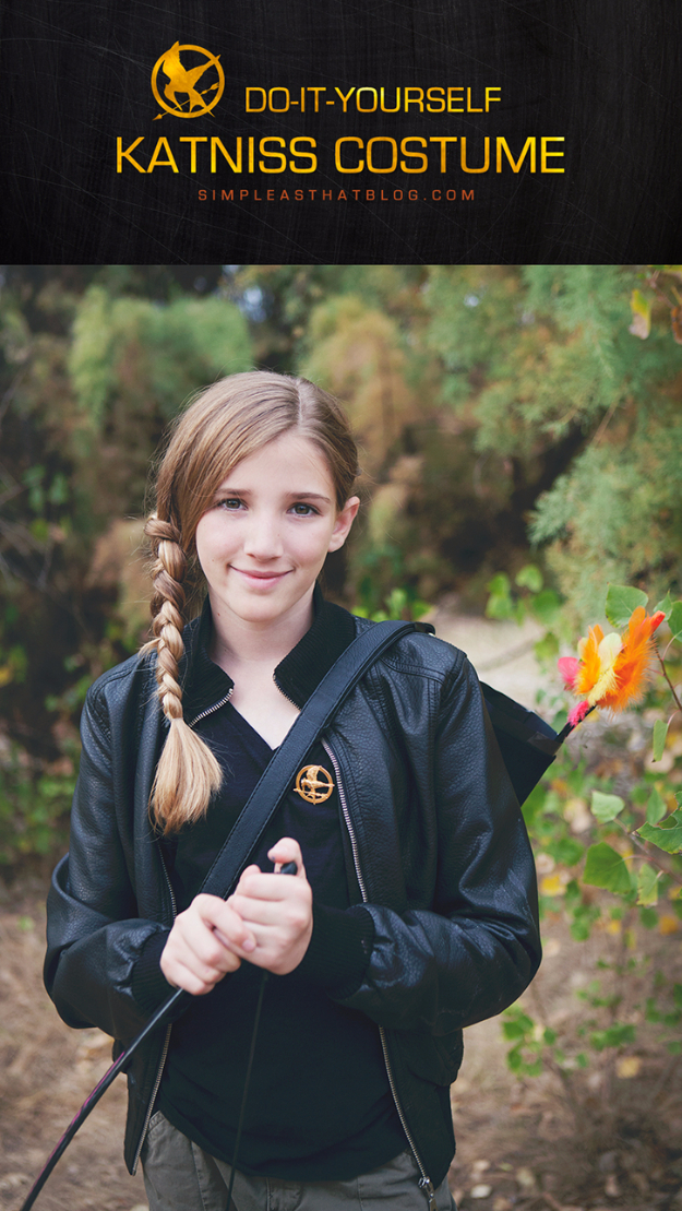 Best DIY Halloween Costume Ideas - Katniss Everdeen Costume - Do It Yourself Costumes for Women, Men, Teens, Adults and Couples. Fun, Easy, Clever, Cheap and Creative Costumes That Will Win The Contest