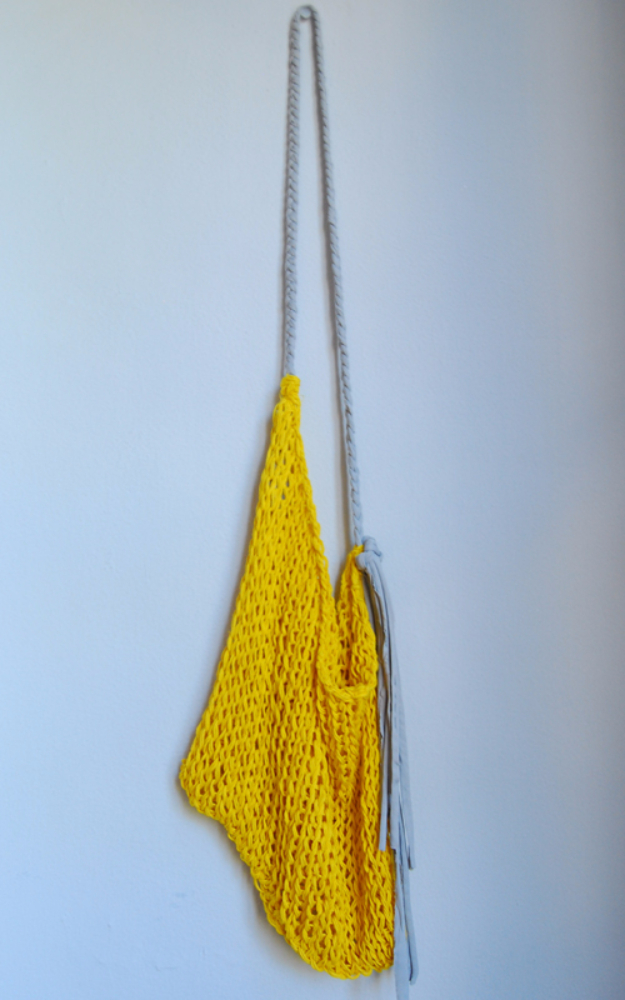 38 Easy Knitting Ideas - Hand Knit DIY Shopping Bag- Knitting Ideas For Beginners, Cute Kinitting Projects, Knitting Ideas And Patterns, Easy Knitting Crafts, Gifts You Can Knit#diy #knitting