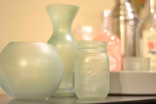 Krylon Sea Glass Vases Diy Joy
